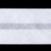 12mm PolyCotton Bias Binding - White