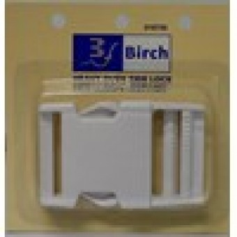 Heavy Duty Side Lock - white - 38mm
