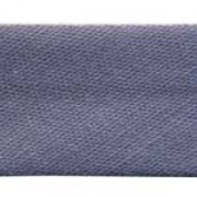 12mm PolyCotton Bias Binding - Charcoal
