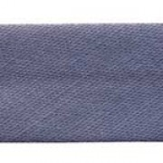 25mm PolyCotton Bias Binding - Charcoal