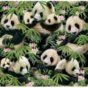 Panda Bears by Elizabeth Studios - ES1230