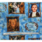 Wizard of Oz on light blue b/g by Quilting Treasures #3
