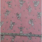 """Petite Fairy Toile"" by Michael Miller DC4223"