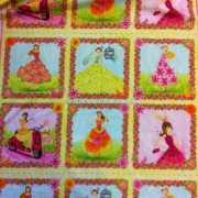 'Girly Girl' Panel by Bella Pilar - E60-1282-MULTI