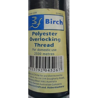 Overlocking Thread - Navy - 2500m