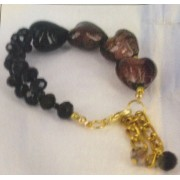 Touch Of Romance Bracelet - Bead Kit - Port Wine