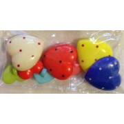 Buttons - Craft - Assorted Hearts
