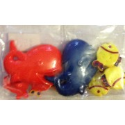 Buttons - Craft - Assorted Fishes
