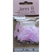 Angel Wing Embellishment - Pink