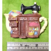 Sewing Machine Fridge Magnet