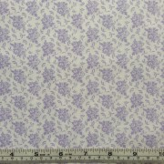Small Lilac Print on White background