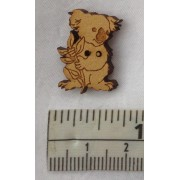Buttons - Koala (approx. 13mm x 20mm)