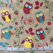Owls on beige b/g by SSS GL6897-01