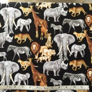 African animals by Timeless Treasures C5571