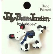 Charm - B&W Cow