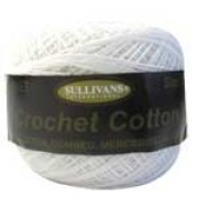 Crochet Cotton - Size 20 - White