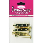 Brooch Pins - Size 3 - Gold