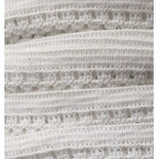 10mm Lace Elastic - white