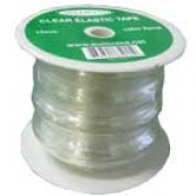 12mm Clear Elastic Tape