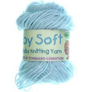 Baby Soft - 4 ply Baby Knitting Yarn - Blue