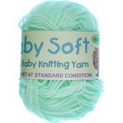 Baby Soft - 4 ply Baby Knitting Yarn - Mint