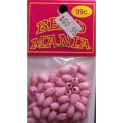 Bead - Pink Tubes