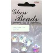 Bead - Glass Flower 13mm 5pcs/bag