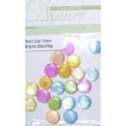 Shell Disc 10mm Brights 20pcs/bag