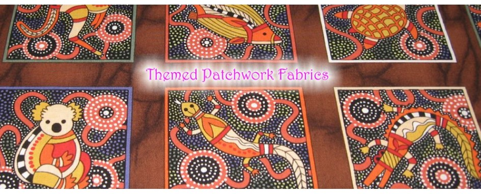 Themed patchwork fabrics