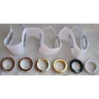 Rings - plastic (Grommet tape)
