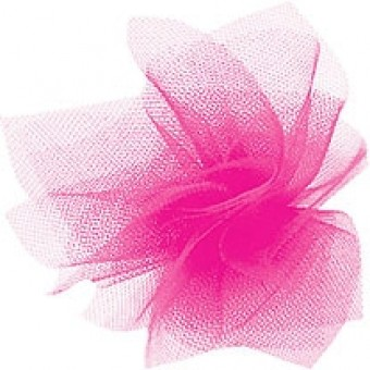 Dress Net - Hot Pink