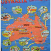 Hoppy's Road Trip - Map of Australia