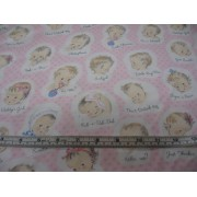 BABY-C 3336 pink by Timeless Treasures