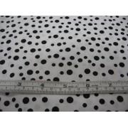 medium black spot on white b/g