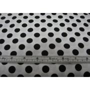 large black spots on white b/g