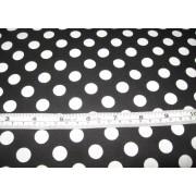 large white spots on black b/g