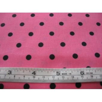 black spots on pink b/g
