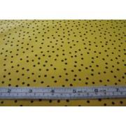 black spots on yellow b/g