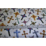 """Peace"" crosses by Timeless Treasures CM1422"