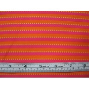 """New Tiny Ticking"", pink/orange stripe by Holly Holderman LHO4036"