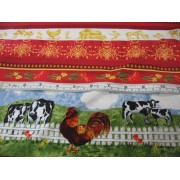 """""""Spring on the Farm"""", stripes by Avlyn"""