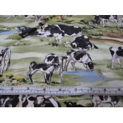 Black and white cows by Kennard & Kennard K6176