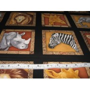 African animals by Timeless Treasures C5570