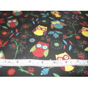 Owls on black b/g by SSS GL6897-02