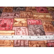 Big Sky horses by Exclusively Quilters