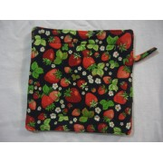 Oven Mitt - Strawberry