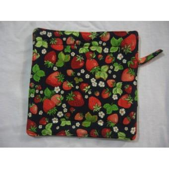 Oven Mitt - Strawberry