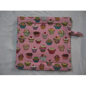 Oven Mitt - Cupcakes
