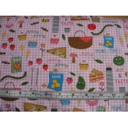 Picnic Foods by Timeless Treasures FUN-C8119