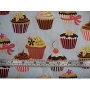 """Sweet Tooth"" cupcakes by Robert Kaufman #6828"